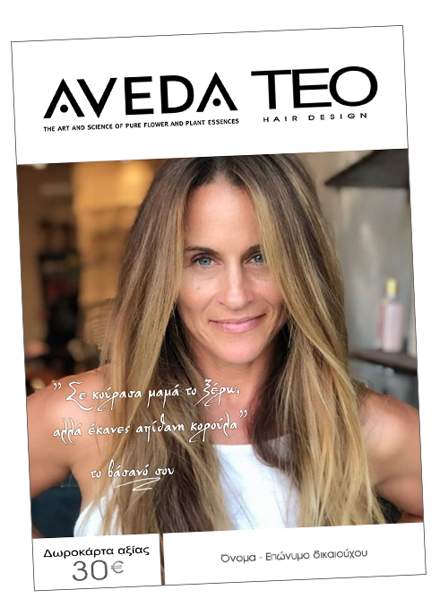 Aveda teo gift card Women